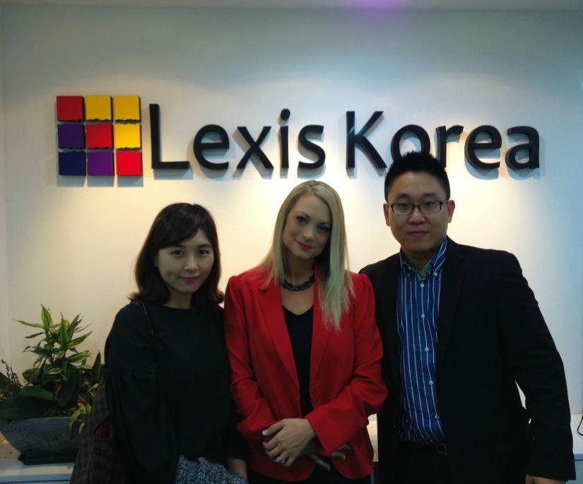 Aimee from Lexis Australia visits Lexis Korea!