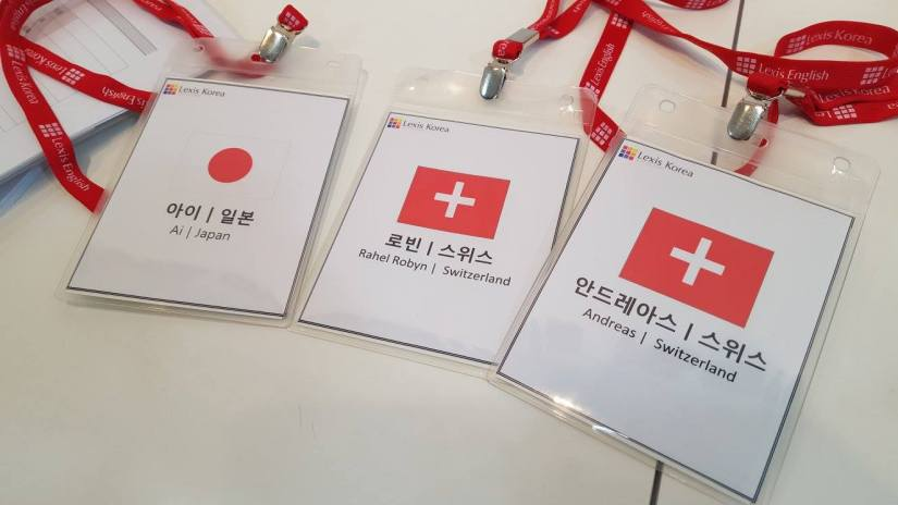 Lexis Korea -Name tags